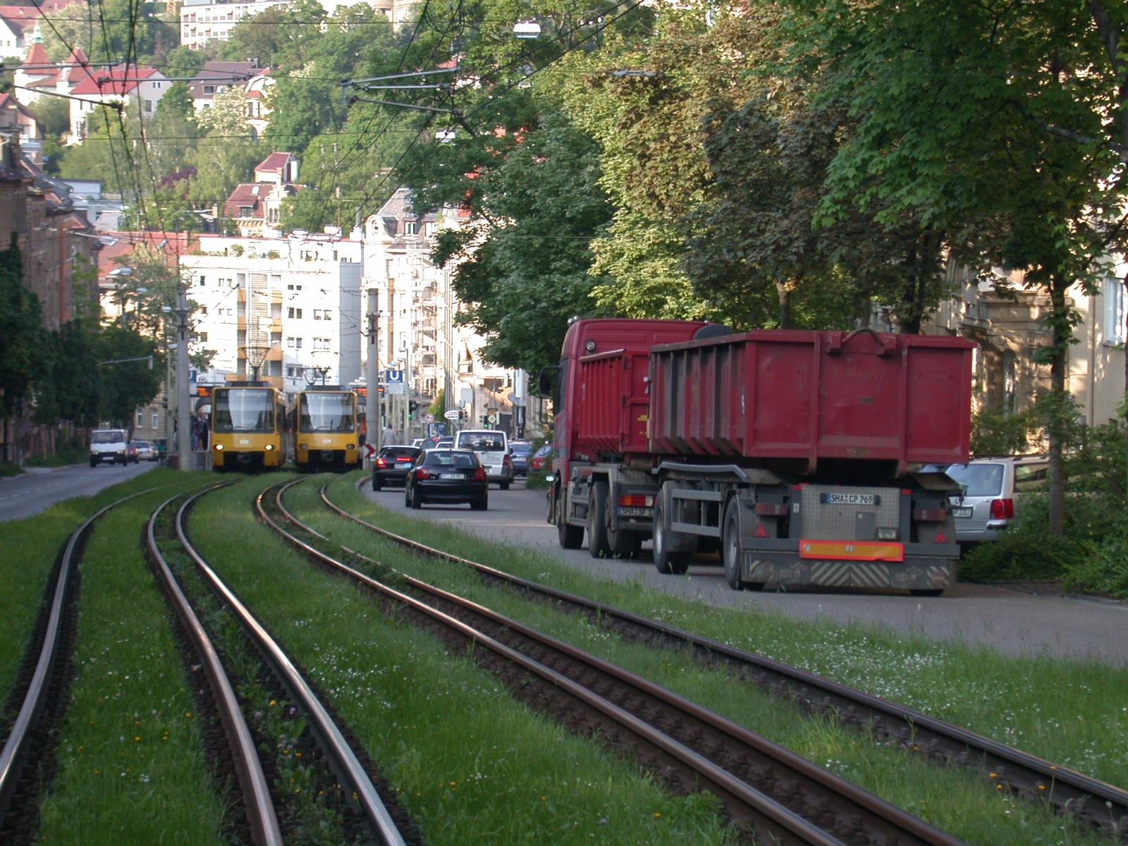 Green aeration corridors in Stuttgart City | PANORAMA