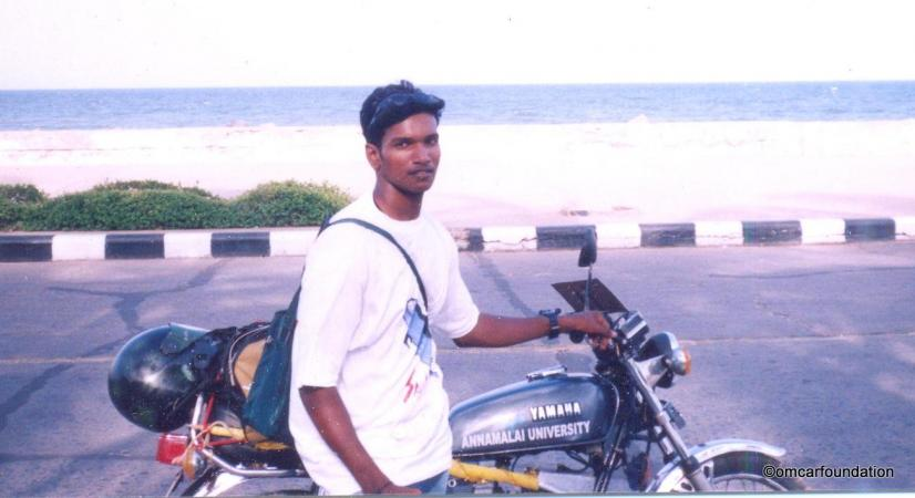1200 km solo bike expedition for creating awareness about coastal ecosystems 2002
