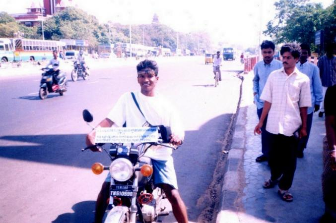 1200 km solo bike expedition for coastal ecosystem awareness 2002