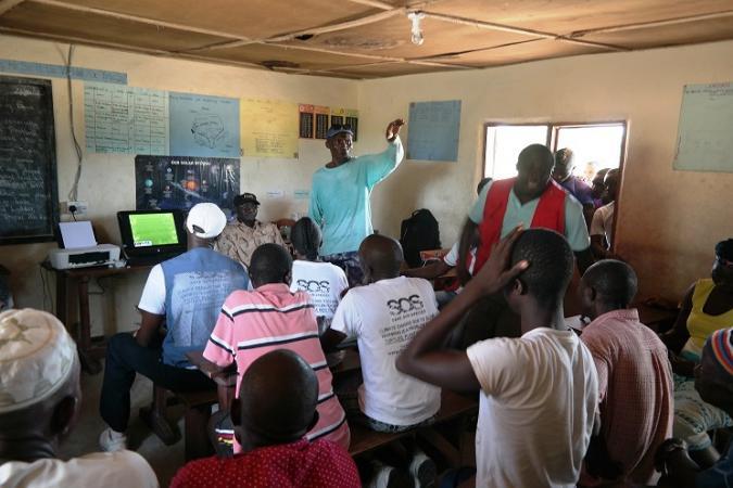 A. Sesay, Reptile and Amphibian Program – Sierra Leone