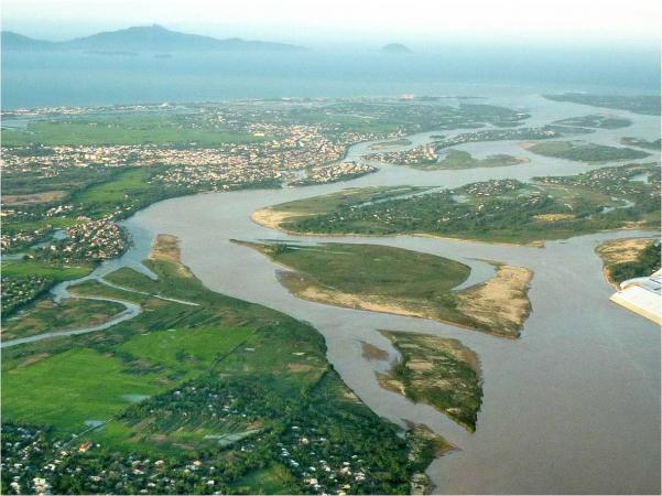 Aerial view of Cham Islands and Hoi An. Copyright Bui Kien Quoc.