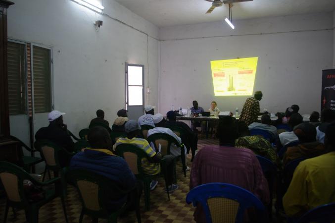 Training Session in Ziguinchore, Sénégal
