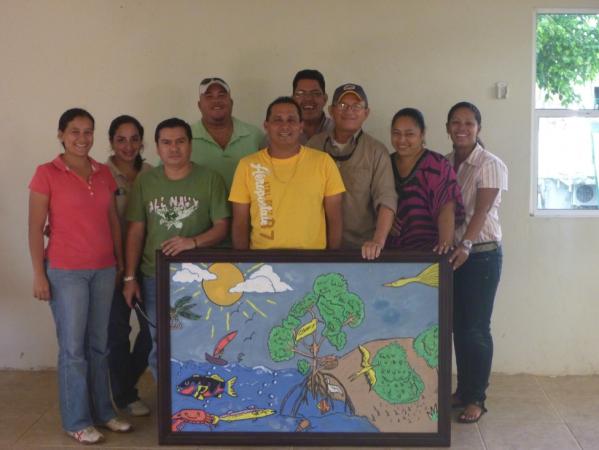 Team members (© BICA Guanaja)