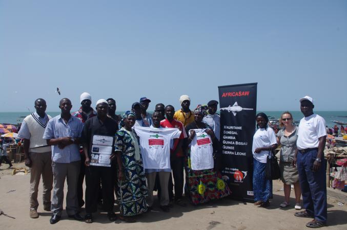 Training Session with Sea Users in Tandji, Gambia