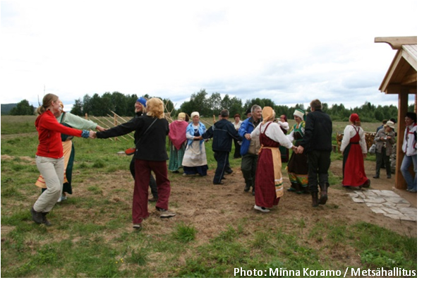 Celebrating cooperation and cultural heritage in Paanajärvi National Park, Russia