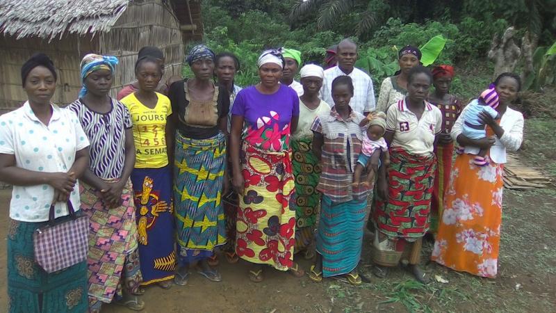 Les femmes de l'OP féminine IRAFM