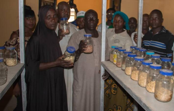 Seed bank of Sheda Community