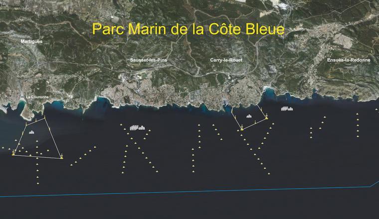 Côte Bleue Marine Park