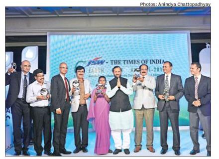 JSW-Times of India-Earth Care Awards 2015