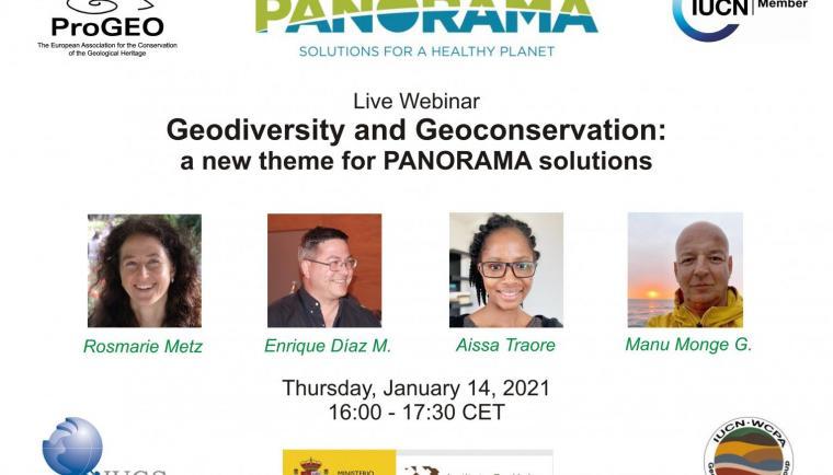 Geo-Panorama webinar poster
