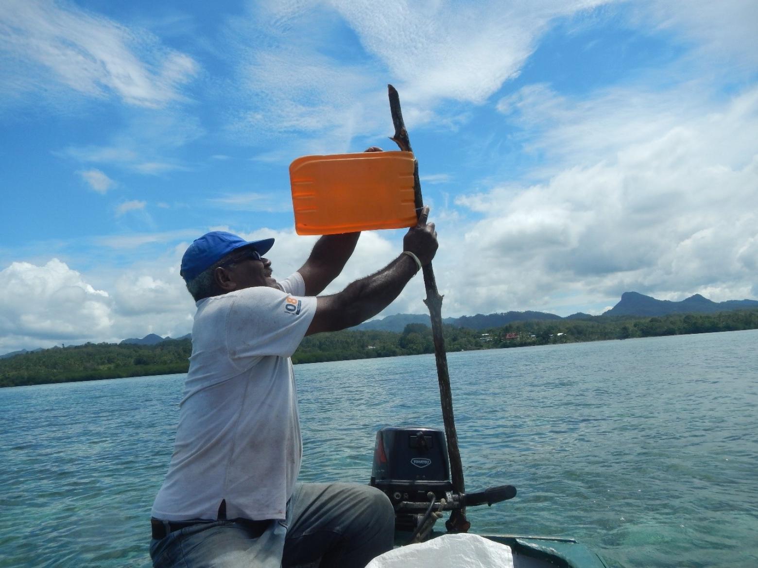 Marking out Navakavu's tabu